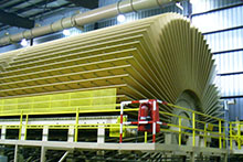 Louisiana Particleboard Plant